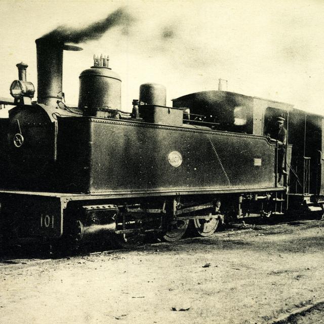 Train De Trignac Iconographie Ancienne