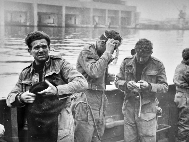 Soldats Britanniques Mars 1942©photographe Inconnu Collection Saint Nazaire Agglomération Tourisme