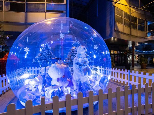 Illuminations Noel Saint Nazaire Hiver Décembre