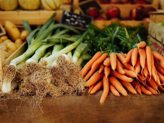 Marchés Saint Nazaire Legumes Saison Hiver