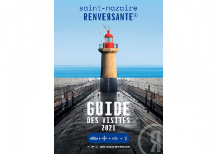 Couverture Guide des visites de Saint-Nazaire Renversante 2021