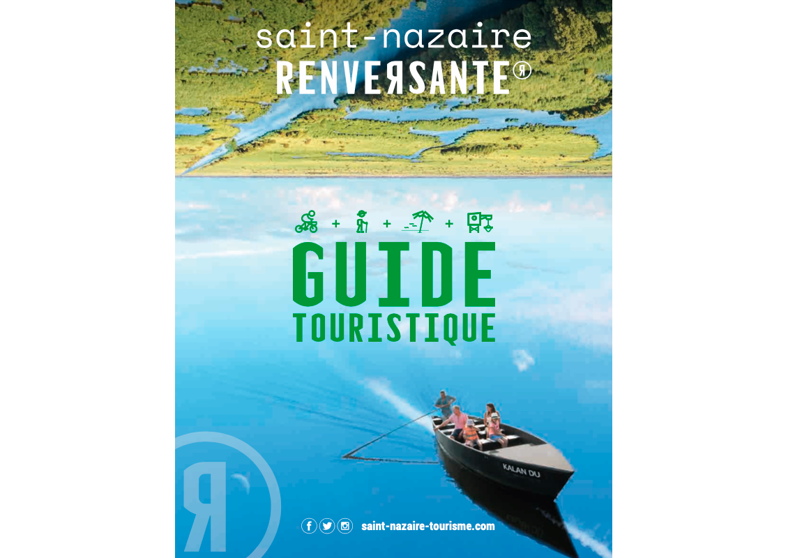 Couverture Guide Destination Saint Nazaire Renversante 2020