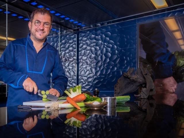 Eric Guérin - Chef étoilé du restaurant La Marre aux Oiseaux