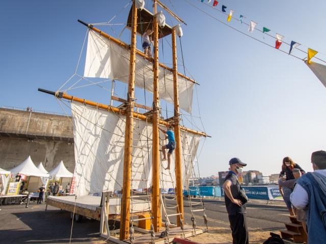 Animations Solitaire du Figaro 2020