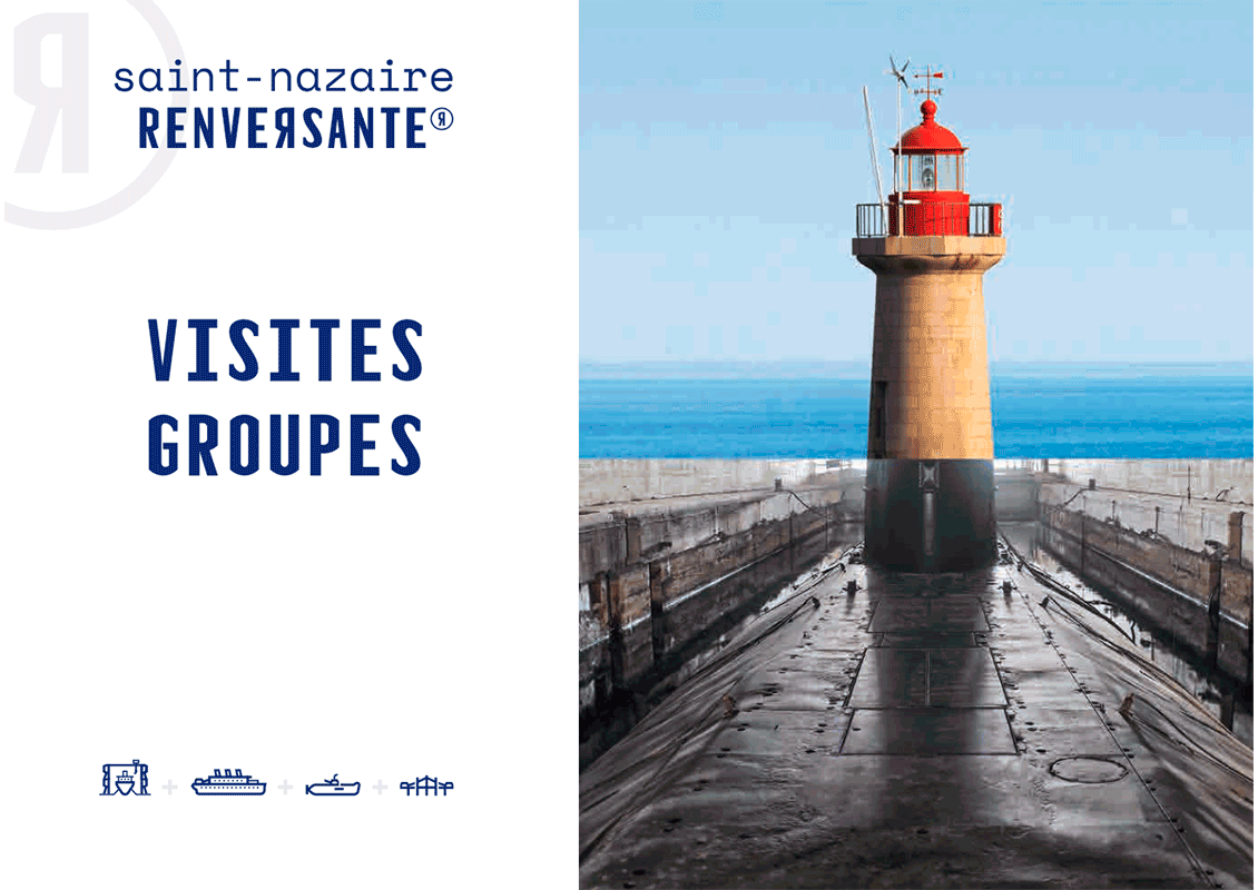 Couverture Brochure Saint Nazaire Renversantes Groupes 2020