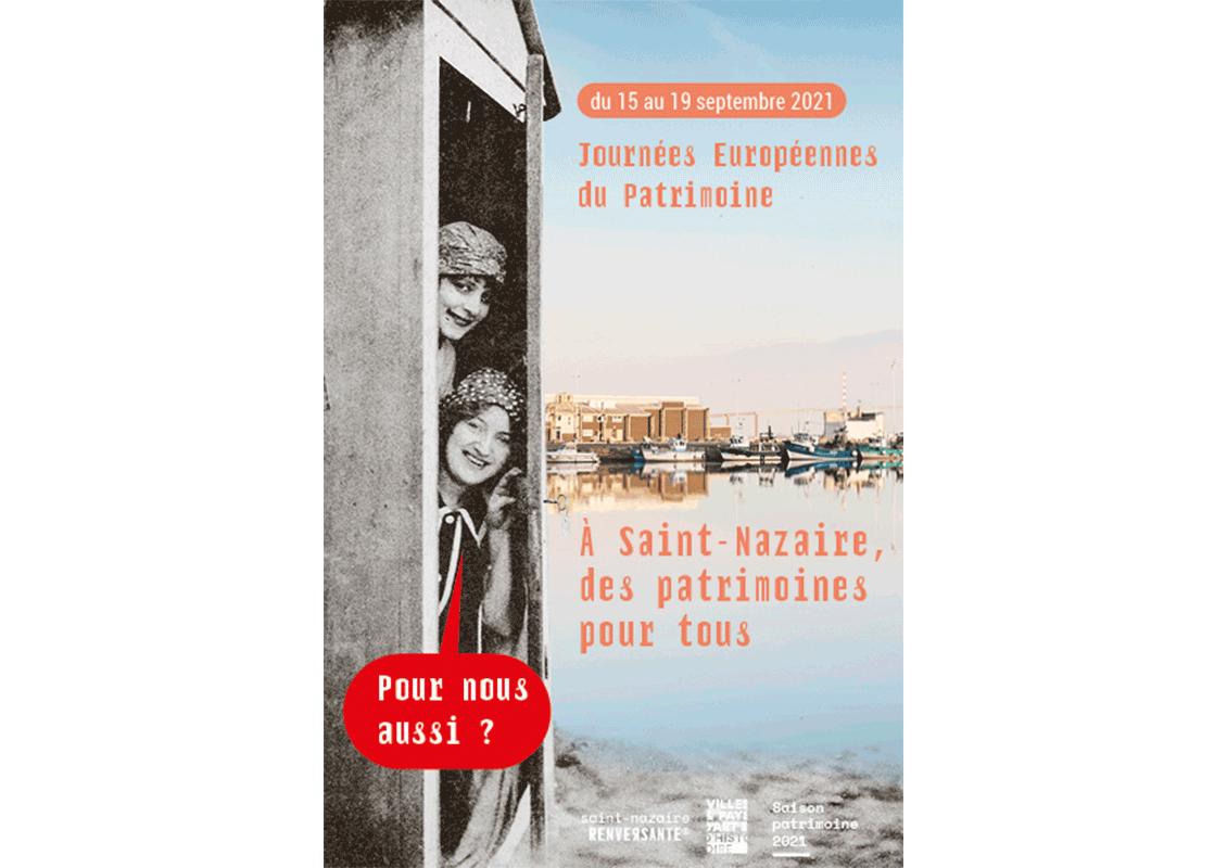 Saison patrimoine à Saint-Nazaire 2021