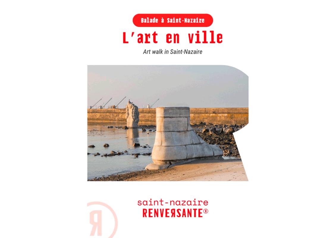 Couverture Plan L'art Dans La Ville Saint Nazaire