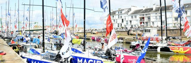 Solitaire du Figaro 2021 à Saint-Nazaire