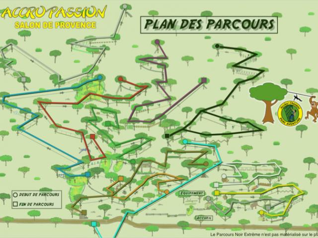 Plan Parcours Accropassion Accrobranche 13 Home 2017