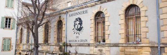 Façade De La Savonnerie Du Moulin à Grain