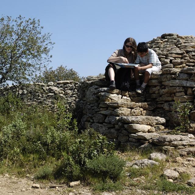 Randonnée pédestre. Borie dans le massif du Tallagard. www.ericfabrer.fr - contact@ericfabrer.fr - + 33 6 62 36 20 91 - Haute définition sur demande.