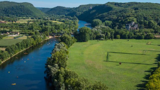 La Dordogne au sud de Sarlat