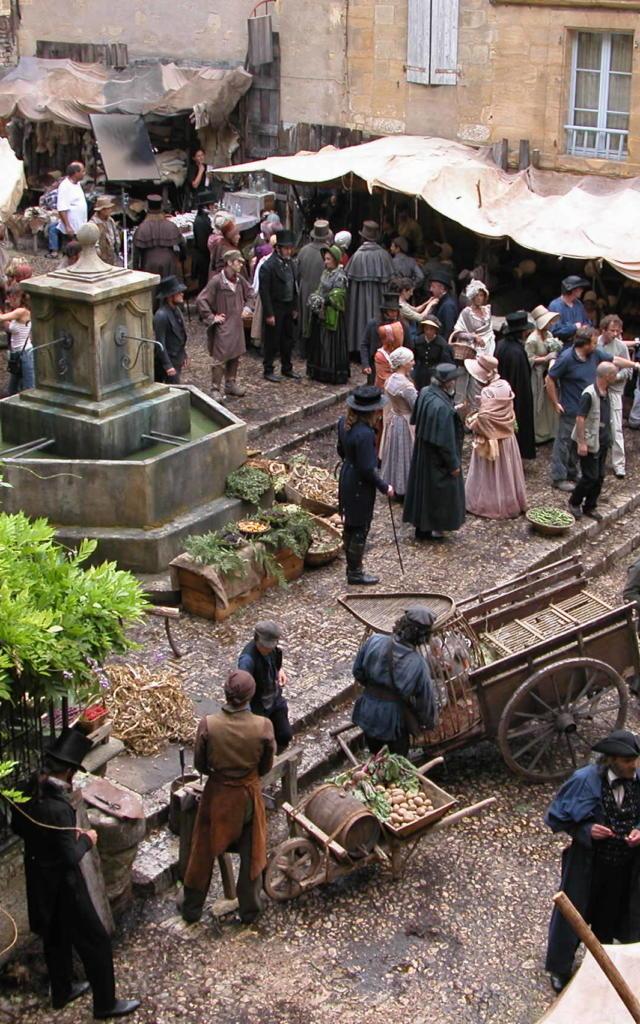 Tournage de films à Sarlat-la-Canéda