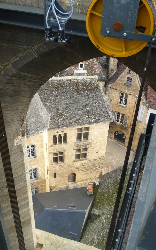 Ascenseur panoramique de Sarlat