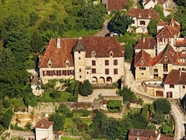 Le village d'Autoire en Quercy