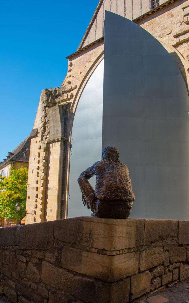 Statue du Badaud, Sarlat Sarlat