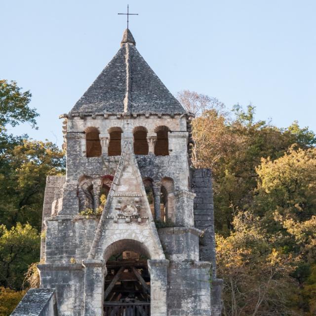 Eglise de Brantôme en Périgord Vert