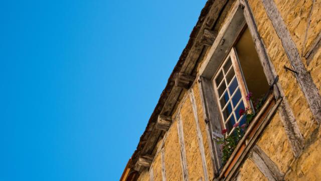 Maison de Sarlat à colombage