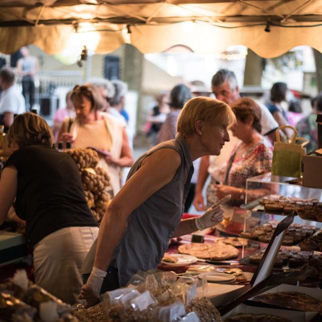 Marché gourmand Fete Du Gout Et De La Gastronomie