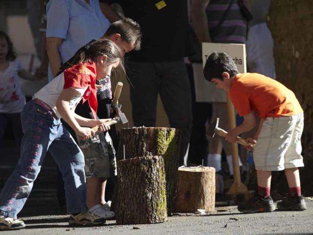 La Ringueta à Sarlat : fête des jeux traditionnels