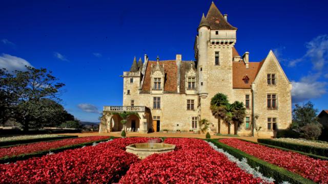 Château des Milandes, vallée de la Dordogne
