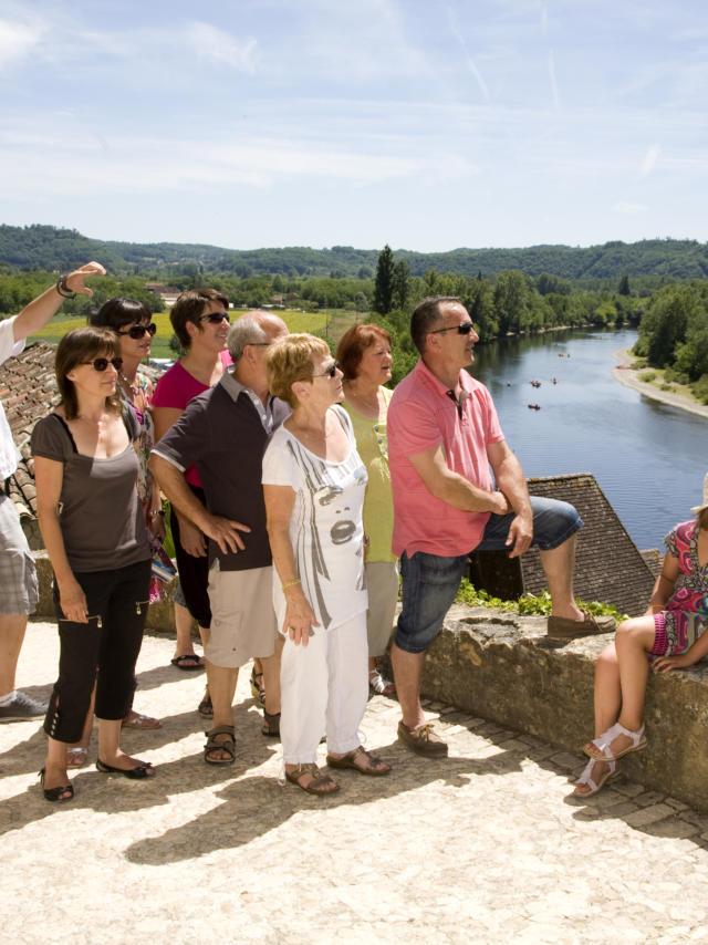 Visite guidée de la Roque-Gageac