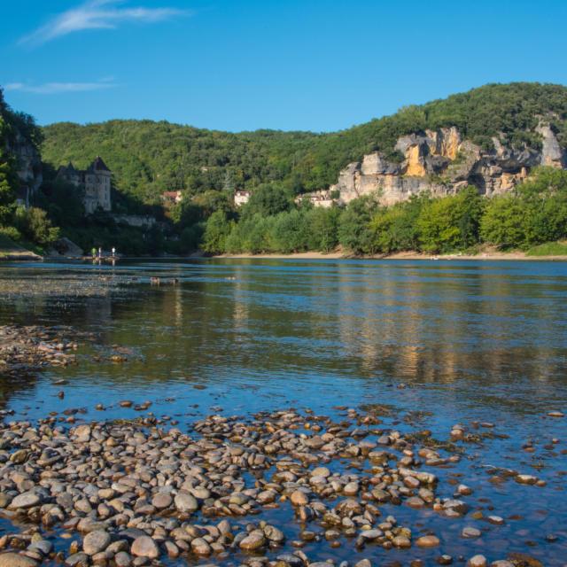 la Dordogne à la Roque-Gageac