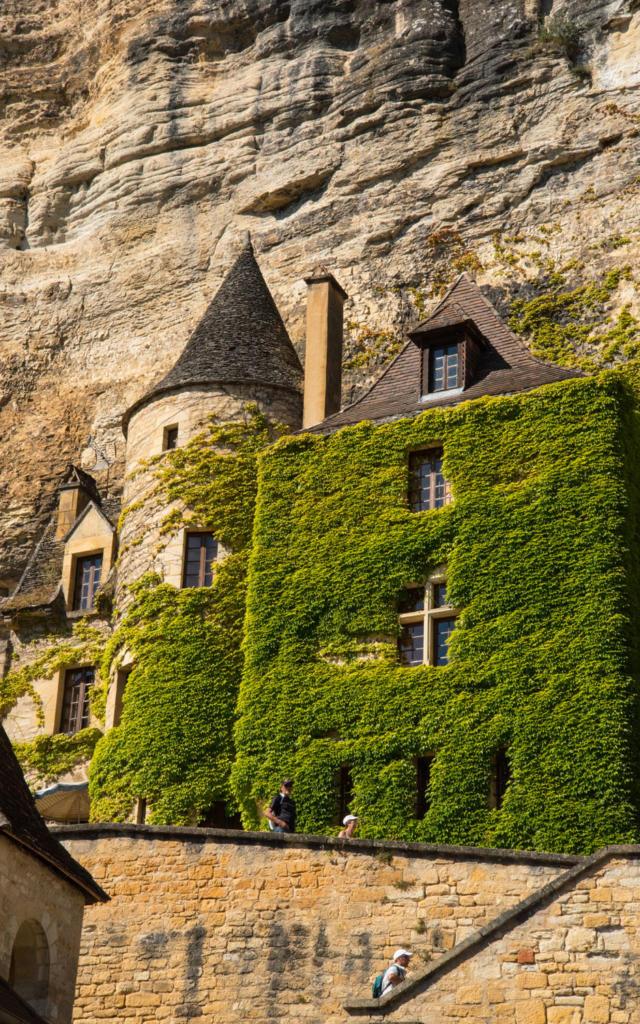 Vue sur le Manoir de Tarde à la Roque-Gageac