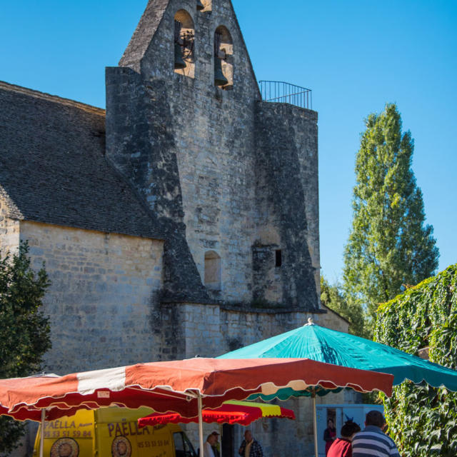 Marché de Sainte Nathalène