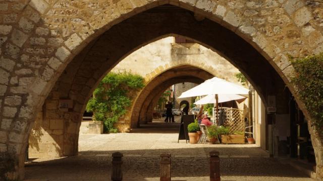 Arcades de la bastide de Monpazier