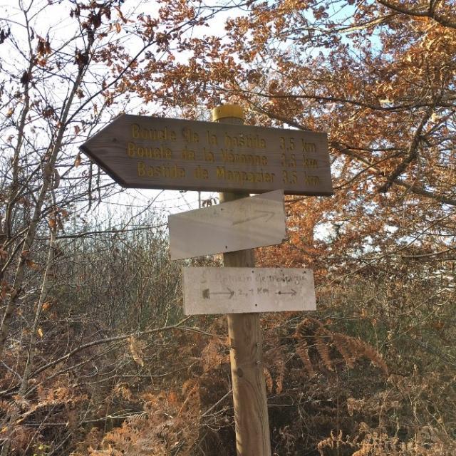 Randonnée autour de Monpazier