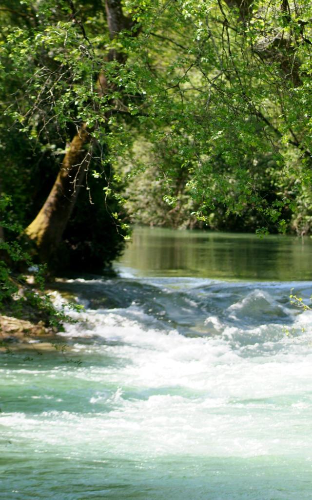 Le Céou, un affluent de la Dordogne