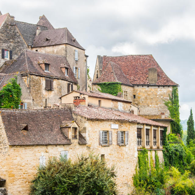 Village de Beynac en Périgord Noir