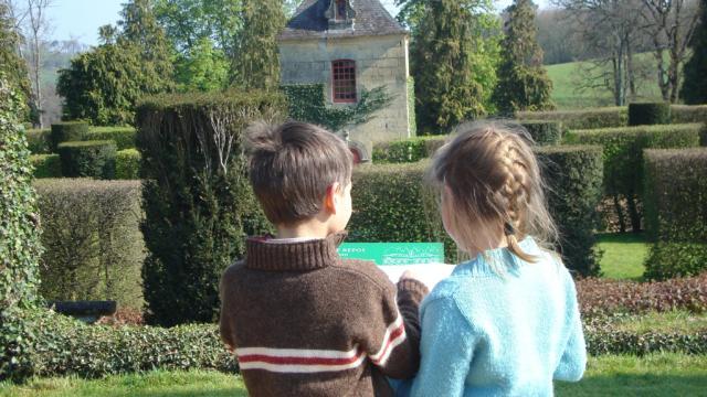 Dordogne en Famille aux Jardins d'Eyrignac