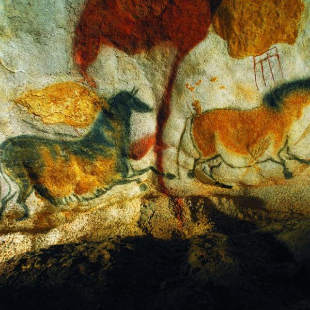 Grotte de Lascaux II dans la vallée de la Vézère