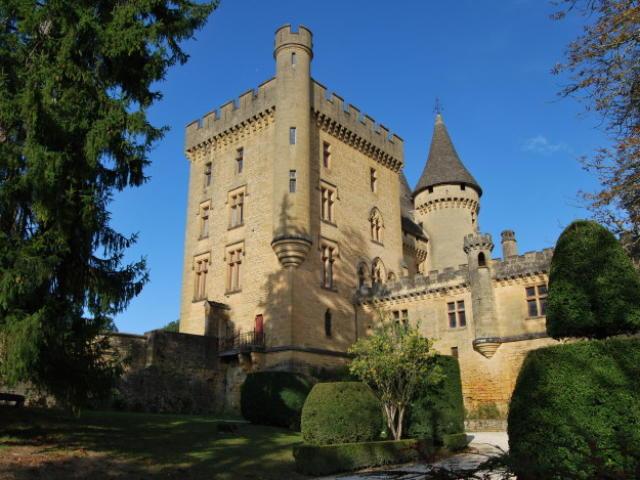 Le Château de Puymartin, entre Sarlat et Les Eyzies