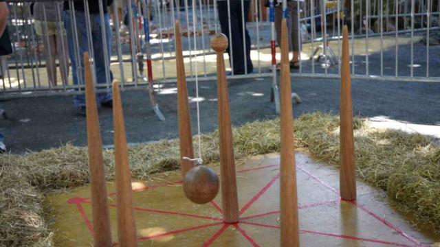 Le Rampeau : jeu traditionnel de La Ringueta à Sarlat