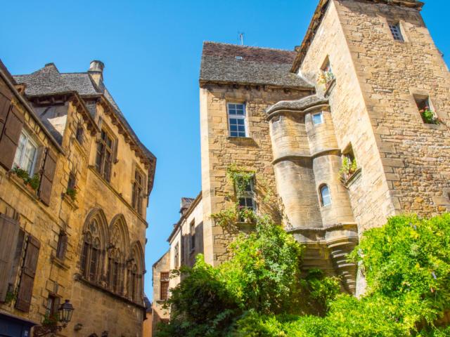 Hôtels particuliers de la rue des Consuls à Sarlat