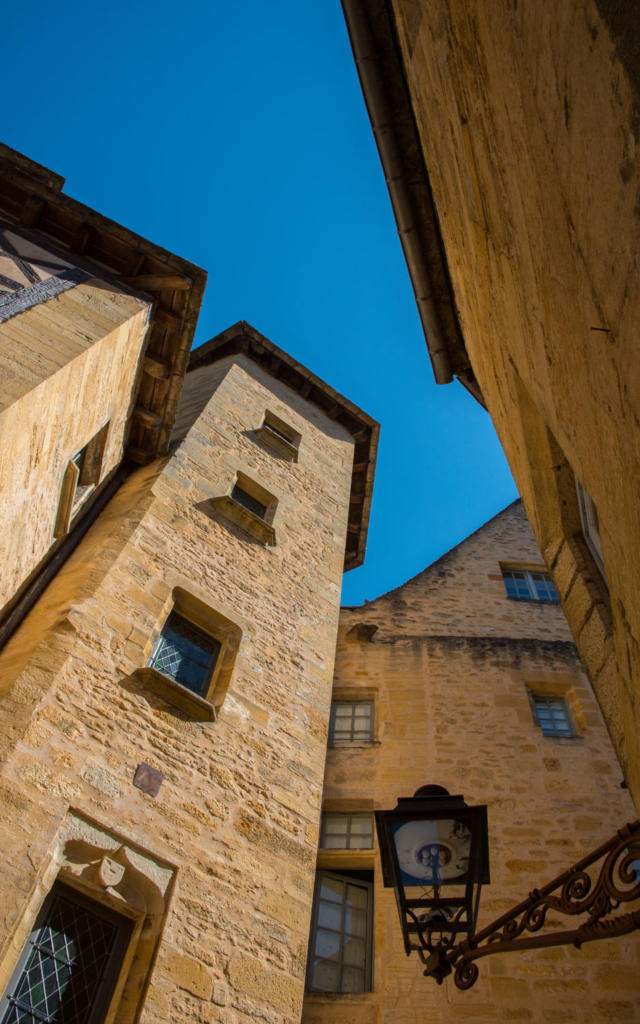 Tour de noblesse de l'Hôtel de Maleville à Sarlat