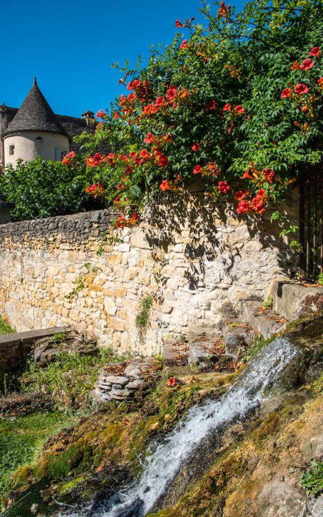Source du château d'Aiguevive à Vincent de Cosse
