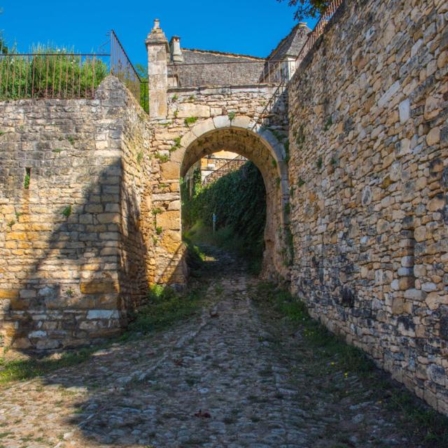 Voie romaine de Saint Vincent De Cosse