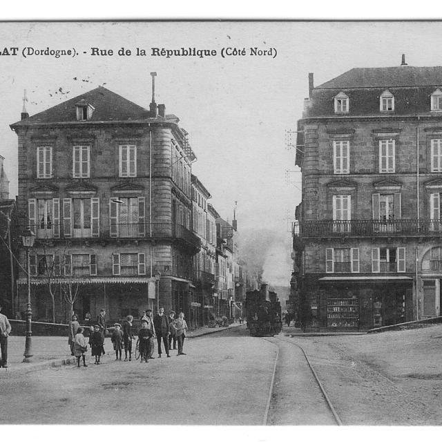 La percée de la rue de la République (