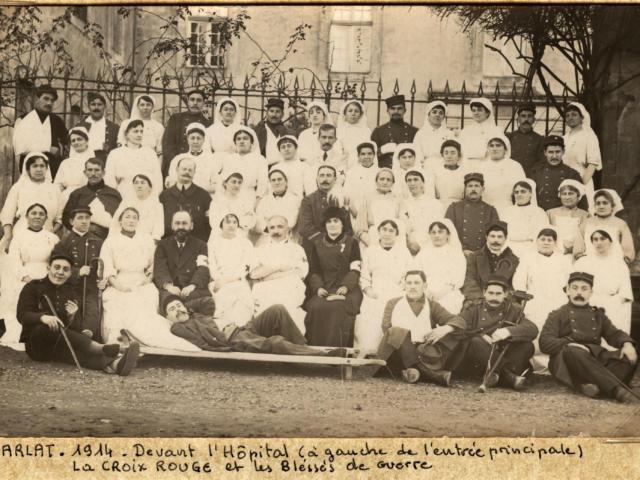 La Croix Rouge de Sarlat en 1914