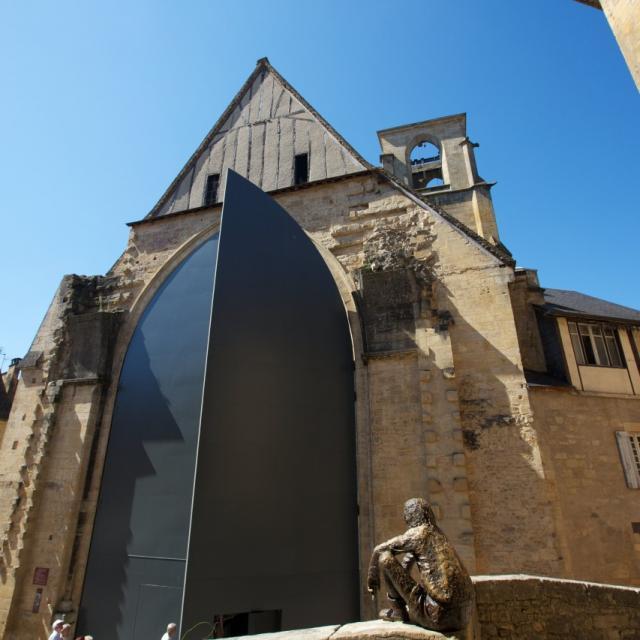 Portes du Marché Couvert de Sarlat, ancienne Eglise Sainte-Marie