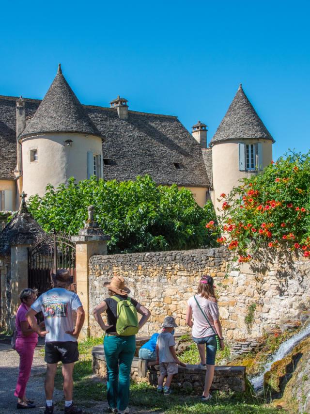 Visite de Saint Vincent de Cosse