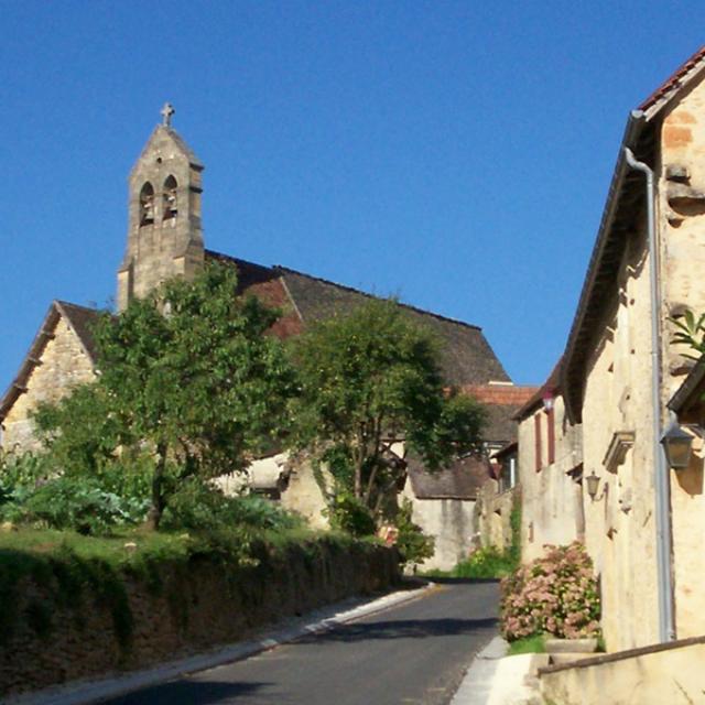 Village de Saint André Allas, proche de Sarlat et des Eyzies