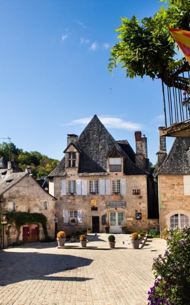 Place de Turenne en Corrèze