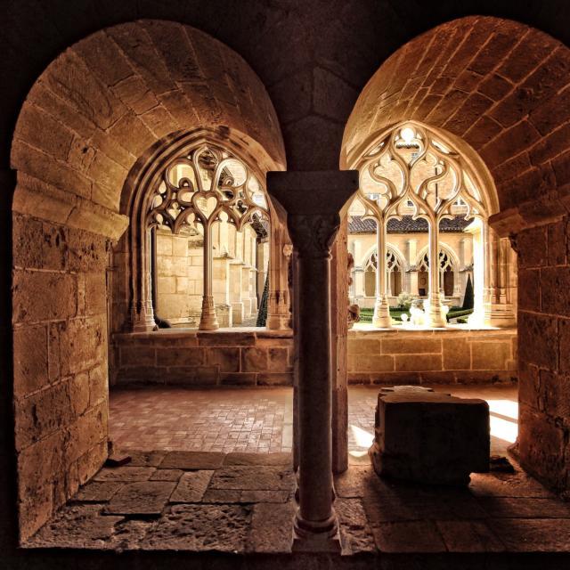 Cloitre de l'abbaye de Cadouin