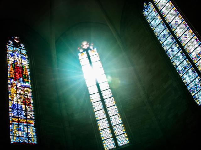 Vitraux de la Cathédrale Saint Sacerdos Sarlat