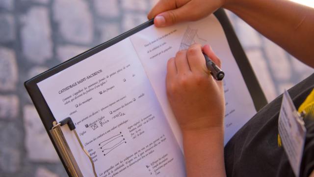 Le printemps des 8/11 ans à Sarlat : visite spéciale pour les enfants